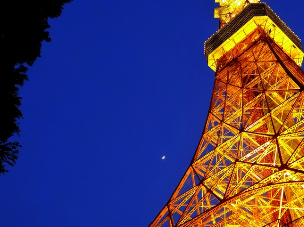 Tokyo Tower. Classic. (Click the photo to see my Flickr page)