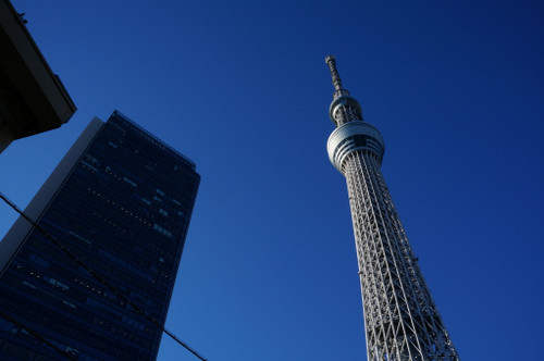 Today you can visit Tōkyō Sky Tree from Oshiage Station