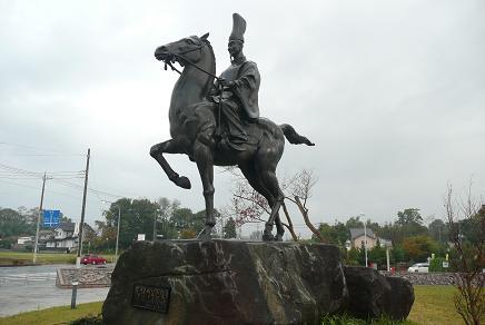 masakado statue