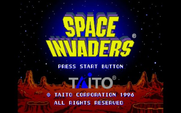 space invaders 1996
