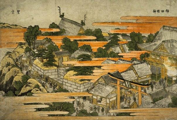 kanda myojin yushima seido hokusai